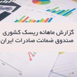 گزارش صندوق ضمانت کشوری